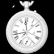Sketch of a clock